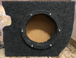 Cajón Para Aveo 4ptas, Caja De Sonido Para Bajo 10