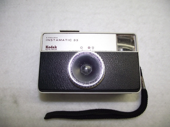 Maquina Fotografica Analogica Kodak Instamatic 33