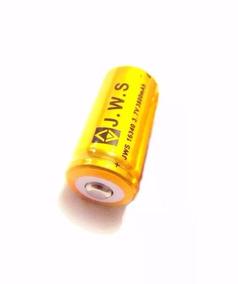 Bateria Cr123 16340 3,7 Recarregável 3800mah