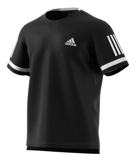 Remera adidas Club 3str 3 Tiras Climacool Hombre Deportivo
