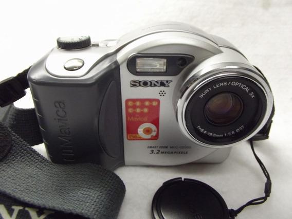 Camera Sony Mavica Mvc Cd350 Original Japan