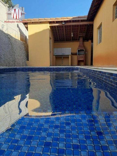 Imagem 1 de 30 de Linda Chácara Com 3 Dormitórios, Pomar, Piscina, Bem Localizada, Vista Deslumbrante, À Venda, 1000 M² Por R$ 350.000 - Zona Rural - Pinhalzinho/sp - Ch0947