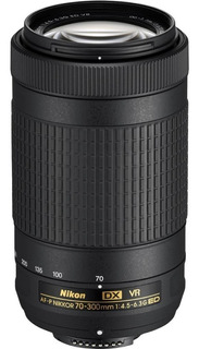 Lente Nikon Af-p 70-300 Dx Nikkor F/4.5-6.3g Ed Vr