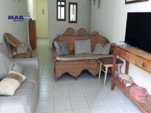Imagem 1 de 6 de Apartamento Residencial À Venda, Barra Funda, Guarujá - . - Ap7665