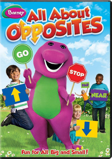 Dvd : Barney: All About Opposites (dvd)
