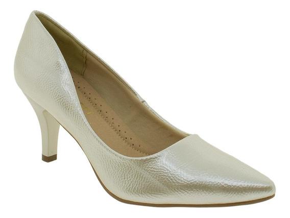Sapato Scarpin Feminino Facinelli By Mooncity Premium