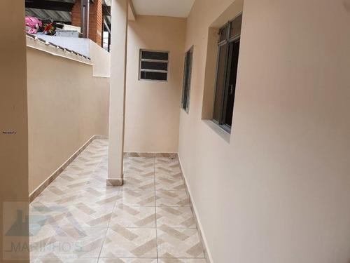 Casa Para Locação Em Mauá, Jardim Itapeva, 1 Dormitório, 1 Banheiro, 1 Vaga - 345_1-1767108