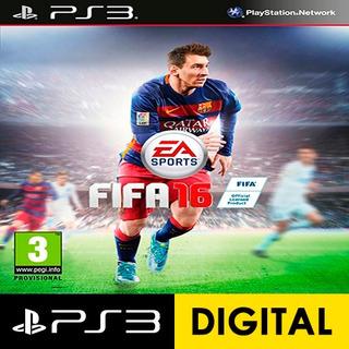 Fifa 16 Ps3 Digital Incluye El Pase En Linea
