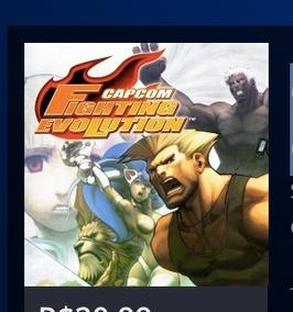 Capcom Fighting Evolution (ps2 Classic) Ps3 Psn 3gb