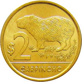 Uruguai - 2 Pesos 2012 (capivara)