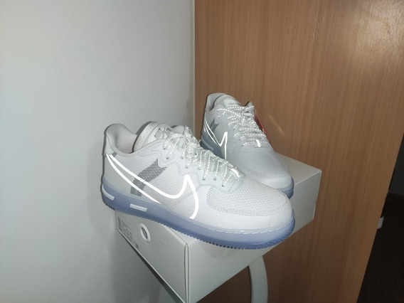 Tênis Nike Air Force 1 Light Bone