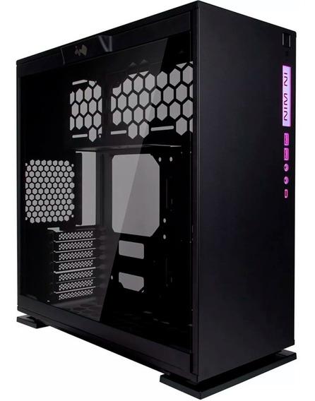 Gabinete Gamer In Win 303c Atx Media Torre Negro Usb