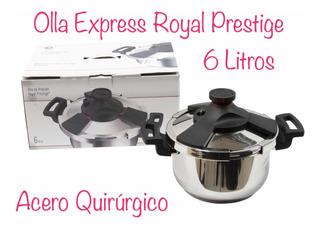 Olla Express De Presión Royal Prestige 6 Litros