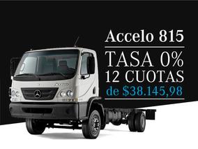 Mercedes Benz Accelo 815/37 0km 2018 C/ Flete Y Formulario