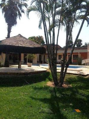 Casa Residencial À Venda, Chácara Boa Vista Da Graminha, Limeira. - Ca0230