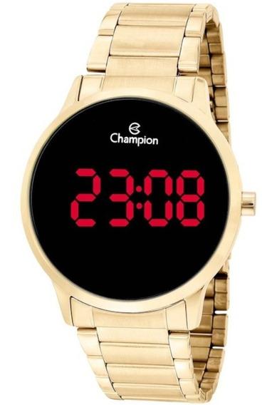 Relógio Champion Digital Feminino Dourado Original Garantia