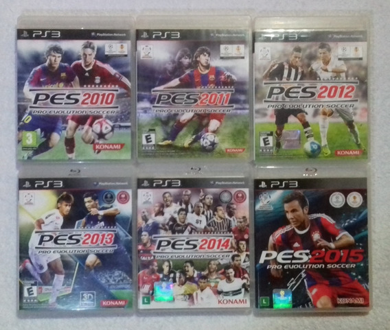 Coleção Jogos De Futebol Pes Para Ps3** Leia