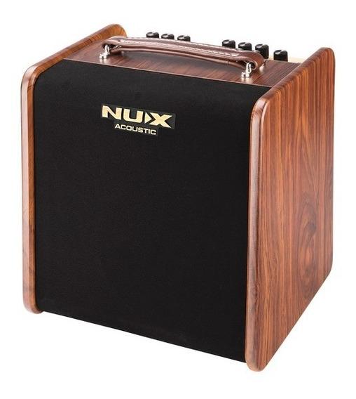 Amplificador Violão Nux Stageman Ac50 Efx Violão/voz