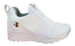 Tenis Plataforma Blanco Zapato Enfermera Xv Novia Medico