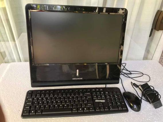 Computador All In One Megaware 2gb Ram 500gb Hd Aton Wind. 7