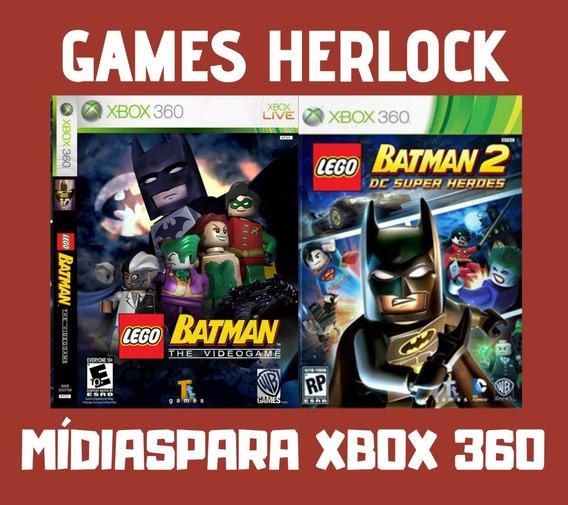 Promoção Lego Batman 1 E 2 - Xbox 360 Mídia Digital