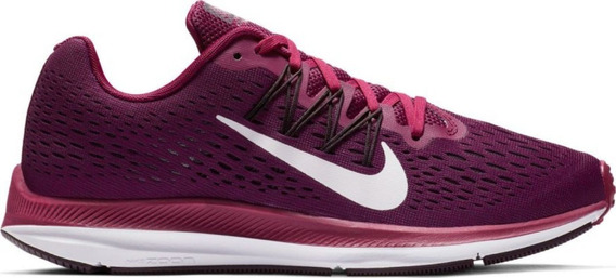 Zapatillas Nike Air Zoom Winflo 5 Mujer Running Aa7414-603