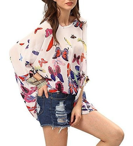 Camiseta De Manga Corta Para Mujer, Estilo Bohemio, Estampad