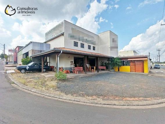 Galpão À Venda, 298 M² Por R$ 900.000,00 - Parque Dos Servidores - Paulínia/sp - Ga0010