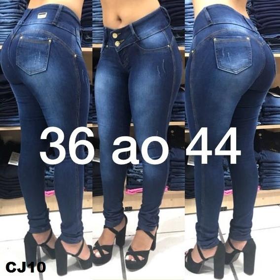 Calças Jeans Femininas C/ Laycra/elastano