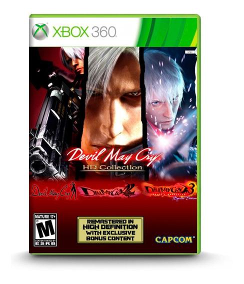 Devil May Cry Hd Collection - Novo Original Xbox 360