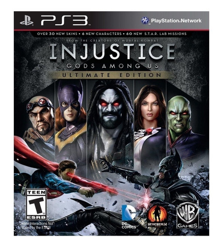 Imagen 1 de 4 de Injustice: Gods Among Us Ultimate Edition Warner Bros. PS3 Digital