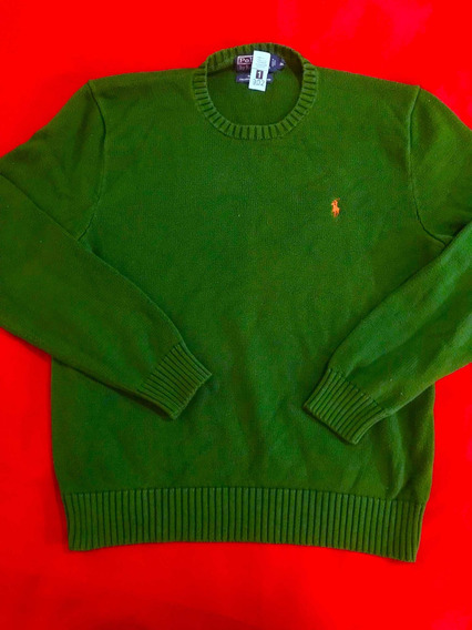 Suéter Polo Ralph Lauren 100% Original Talla M/ No Tommy