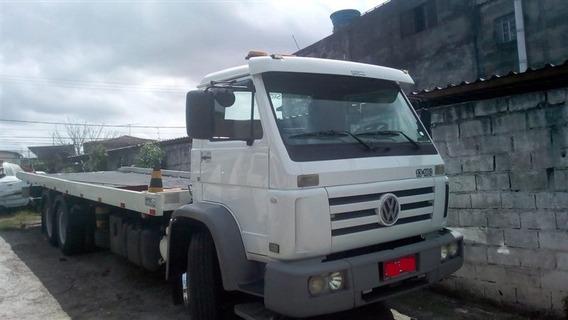 Vw 13-180 Truck Ano 2002 C/ Plataforma 9 Metros R$ 129.900