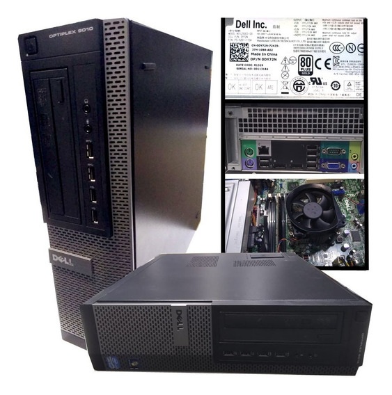Pc Dell Optiplex 9010 Desktop Semi-novo Core I5 C/ 80 Plus