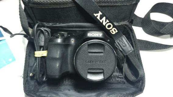 Câmera Digital Sony Cyber-shot Dsc-h200 20.1 Mp C/ Bolsa