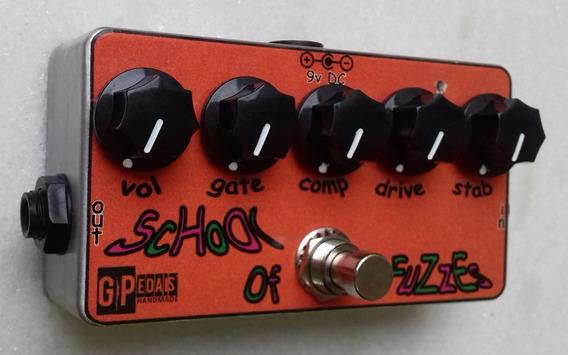 Pedal (baseado) Zvex Fuzz Factory Germânio Gpedais Handmade