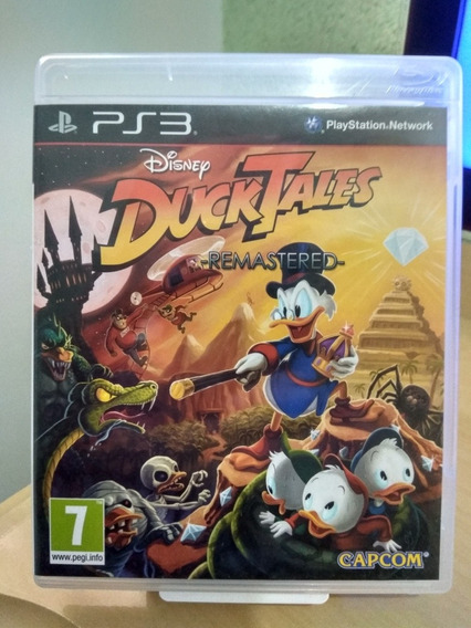 Duck Tales Remastered Conto De Patos Ps3 Usado