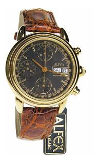 Reloj Alfex Chrono Tachymeter - Automático Swiss Made