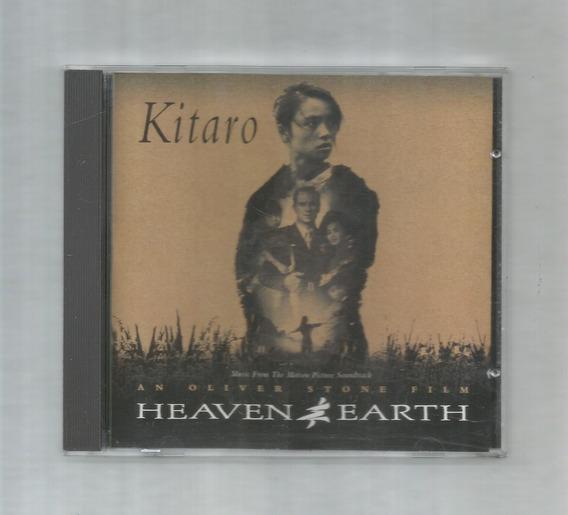 Kitaro Heaven & Earth Oliver Stone Banda Sonora Cd Usado