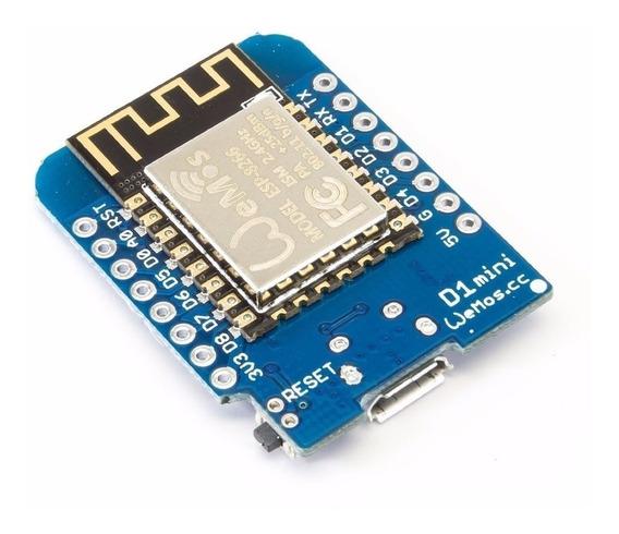 Wemos D1 Mini Arduino Nodemcu Wi-fi Wifi Esp8266