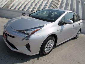 Toyota Prius Plata Base 2017 Nuevo De Demo 2 1/2 De Garantia