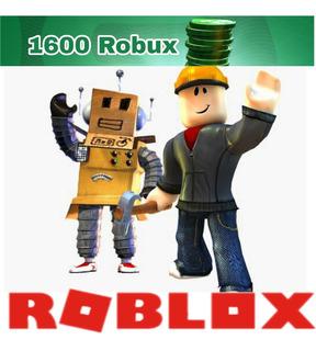Recargar 1600 Robux (roblox)