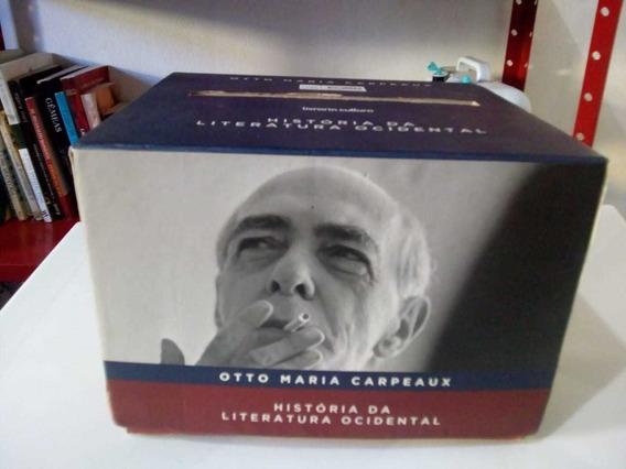 Box História Da Literatura Ocidental - Otto Maria Carpeaux