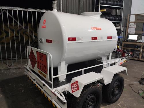 Reboque Para Tanques Diesel De 1500, 250 E3500 Litros