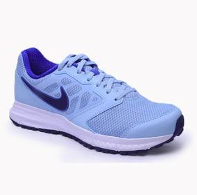 Nike Wns Downshifter 6msl Azul - 684771
