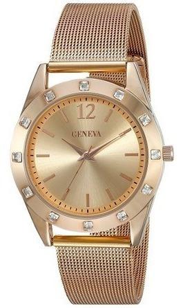 Reloj Dama Geneva Nuevo Original Envio Gratis