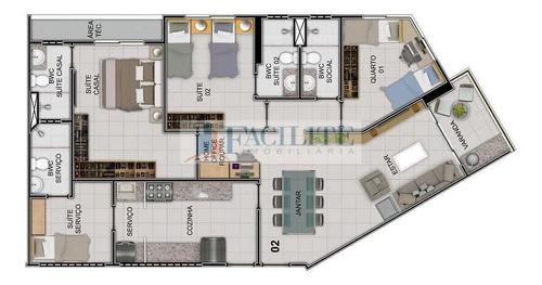 2731 - Apartamento Para Vender, Estados, João Pessoa, Pb - 22823-11451