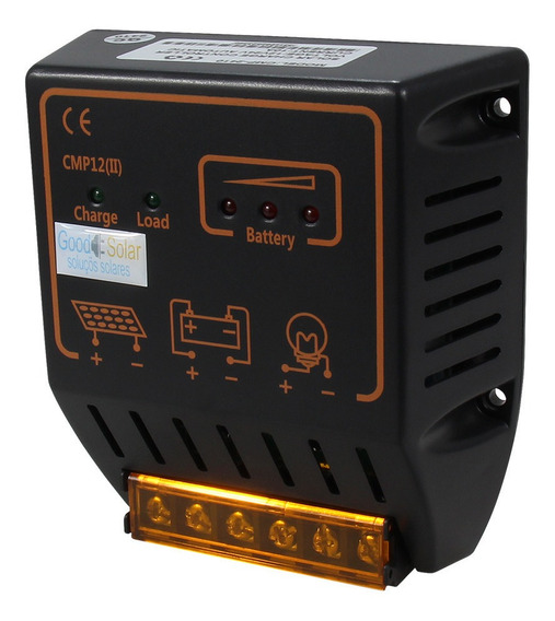 Controlador De Carga Solar Mppt 12v/24v 20a Cpy-2410