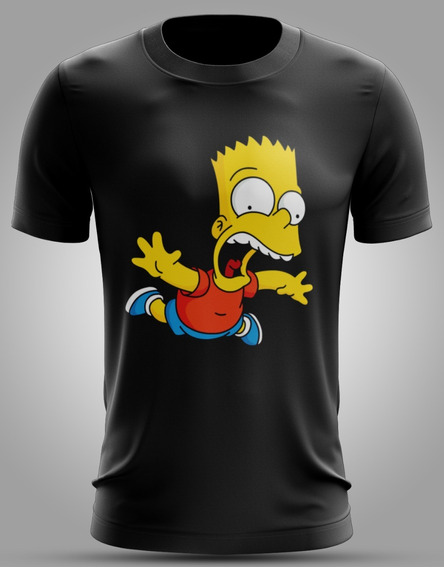 Camisa Do Bart Simpson