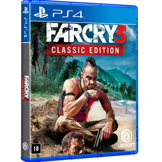 Jogo Far Cry 3 Ps4 Disco Físico Game Novo Lacrado Original
